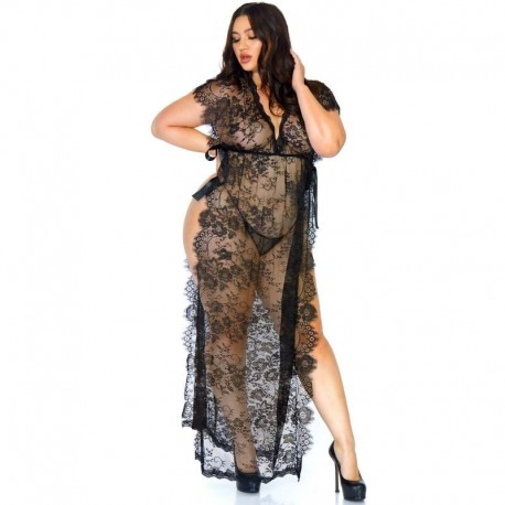 2 Pc - Candy cane mesh mini dress with ruffled hem