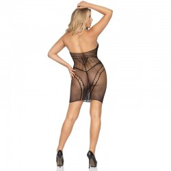 Opaque stripe leg warmers